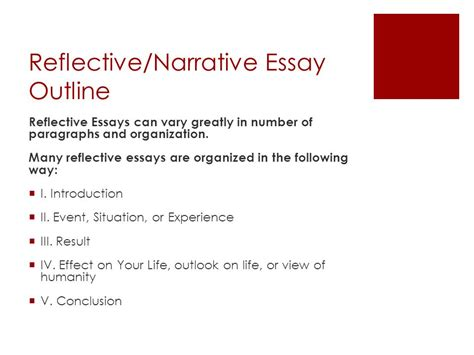 reflective essay sample paper format write online ostracism